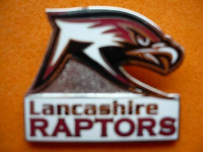 Lancashire Raptors Ice Hockey Club Badge .