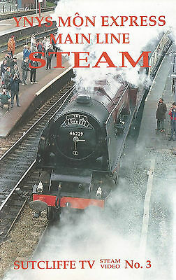 North Wales Main Line Steam - Ynys Mon Express.  Vhs Video Cassette.