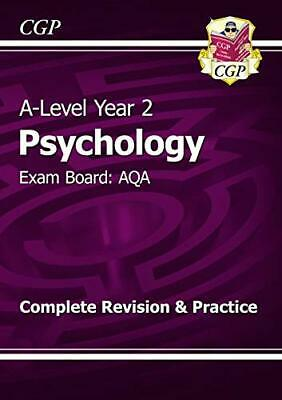 A-Level Psychology: AQA Year 2 Complete Revision & Practice (CGP... by CGP Books