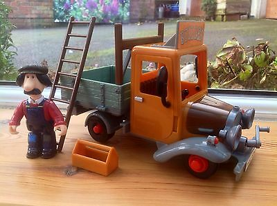 Postman Pat Toy - Large Builders Truck & Ted Glen Figure - Friction - Rare!!!