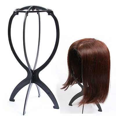Wig Stand Portable Foldable Wig Holder Support Display Stand Hair Accessories