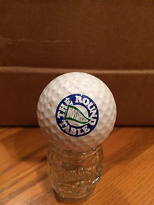 The Round Table Invitational Logo Golf Ball, Old Vintage