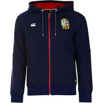 Official British and Irish Lions Canterbury Mens Hoody Navy