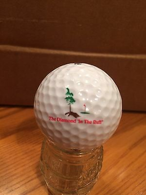 The Diamond In The Ruff Logo Golf Ball, Old Vintage