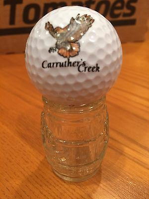 Carrither's Creek Logo Golf Ball, Old Vintage