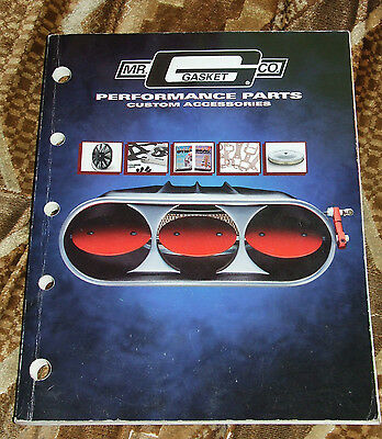 Mr Gasket Performance Parts Full Line 1998 Dealer Catalog USA Import