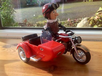 Postman Pat Motorbike With Sidecar And Ajay Figure Playset