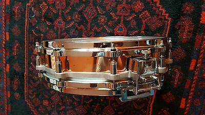 """Pearl 14"""" x 3,5"""" free floating copper snare drum"""