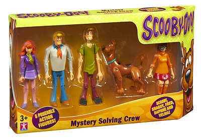 Scooby Doo Mystery Solving Crew Figure Pack of 5