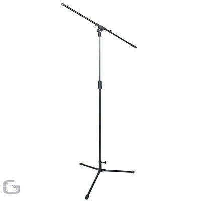 NJS High Quality DJ Mic Microphone Studio Musician Boom Arm Tripod Stand 1650mm
