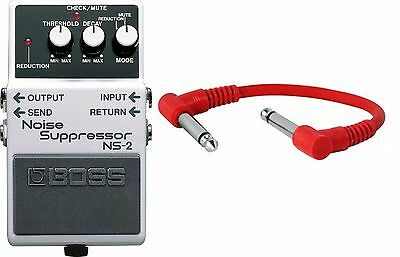 Boss NS-2 Noise Suppressor Guitar Pedal ns2 - Including Patch Cable