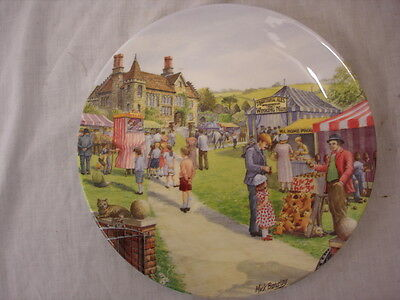 Limited Edition 191 Royal Doulton The Crinkley Edge Bottom Village Fete 26Cm Wi