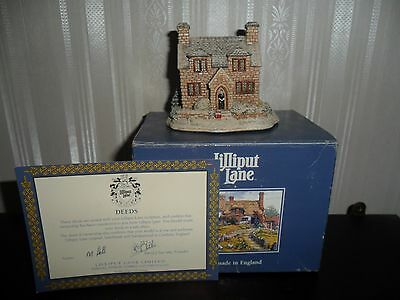 Lilliput Lane ' The vicarage ' 677,  boxed with deeds