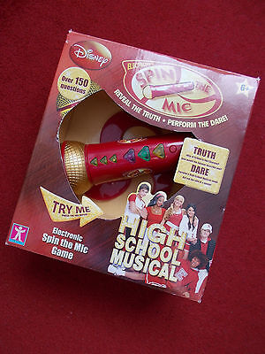 High School Musical 'spin The Mic'  Game