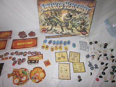 Warhammer multi listings advanced heroquest spares complete your set