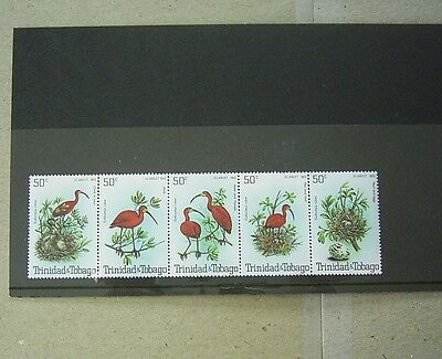 Trinidad And Tobago Birds Stamps - Mint Strip