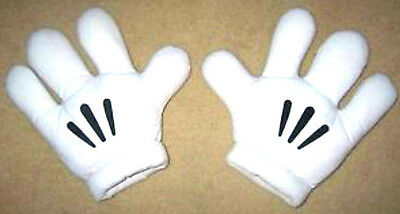 Mickey Mouse Mittens Hands Gloves Mitts -Disney World Original