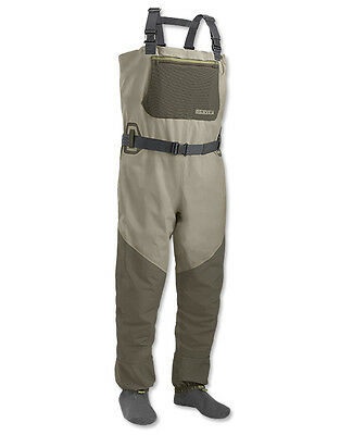 GREAT VALUE! Orvis Encounter Stockingfoot Waders (L)