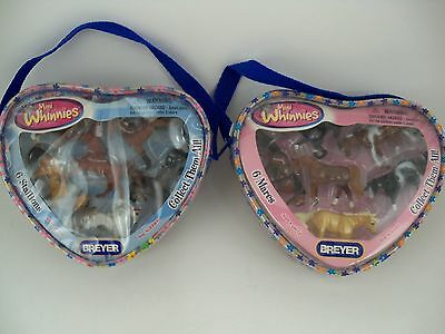Breyer Mini Whinnies Lot of 2 Sets 6 Stallions & 6 Mares NEW in Package NRFP