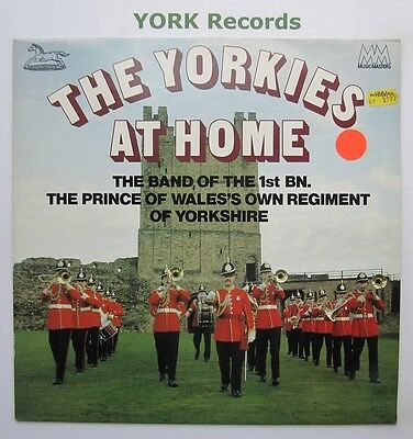BAND OF THE PRINCE OF WALES'S OW REGIMENT OF YORKSHIRE - Yorkies At Home - Ex LP