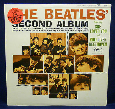 The BEATLES Second Album MONO 1st press CAPITOL RECORDS factory SEALED LP