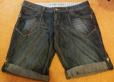 primark atmosphere denim shorts size 16