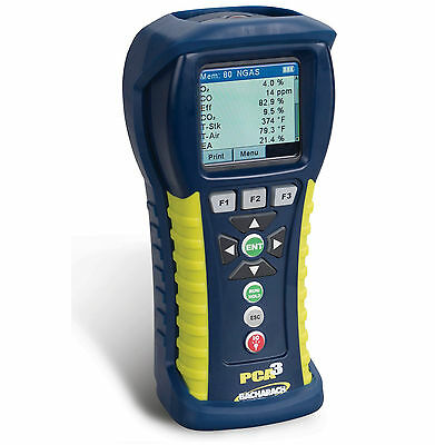 Bacharach PCA3 225 (0024-8440)  Combustion Analyzer with O2 and CO Low-Range