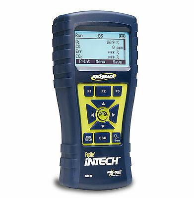 Bacharach Fyrite InTech 0024-8510 Residential Combustion Analyzer, Seigert Model