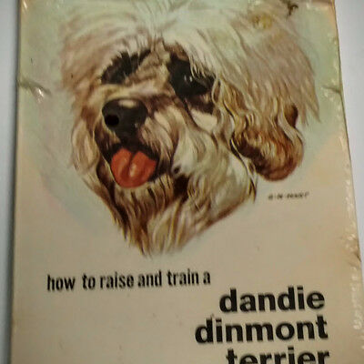Vintage TFH Dog Book - How to Raise and Train a Dandie Dinmont Terrier - Sealed