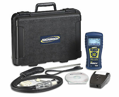 Bacharach Fyrite InTech 0024-8512 Combustion Analyzer Kit, with Reporting