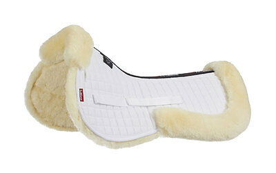 LeMieux Lambskin Half Pad - Small White/Natural - RRP £64.96