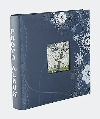 FaCraft Photo Album Holds 200 4x6'' Photos Vintage Scrapbooking With Memo Are...