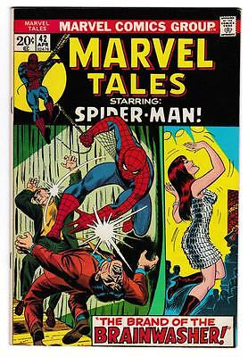 High Grade Marvel Comic Book: 1972 Marvel Tales #42 Spider-Man Mary Jane (B020)