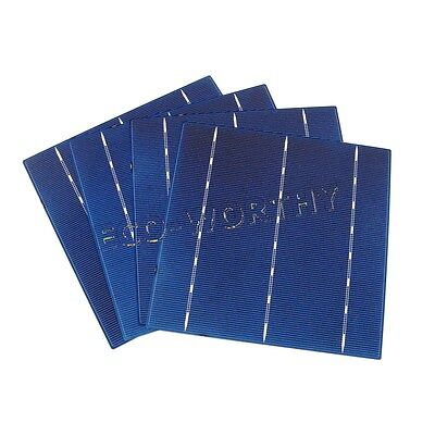 100W Solar Panel DIY - 25pc 156x156mm 6x6 High Power Solar Cells Battery Charger