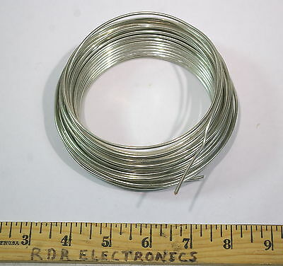 50 ft - 12AWG Solid Bus Wire tinned/copper Lead Hook-Up Amp Ground Strap