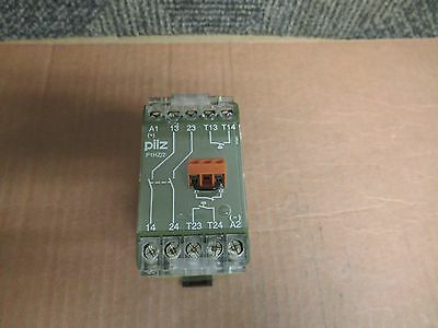 PILZ SAFETY RELAY P1HZ/2 24Vdc 2A A AMP 474580