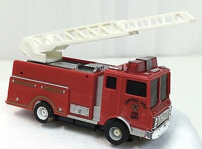 Tyco HO Slot Car US 1 Trucking~~ Ladder Fire Truck~ NICE~~ Vintage