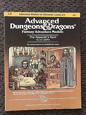 Advanced Dungeons & Dragons Module - L2 The Assassin's Knot - AD&D TSR