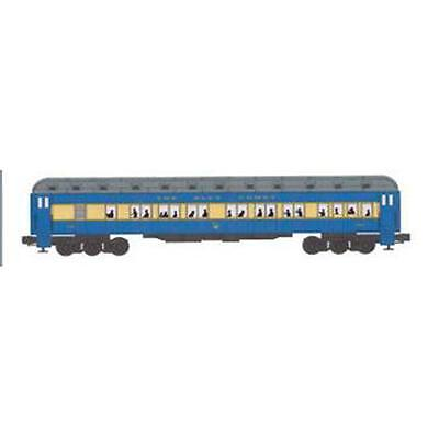 Bachmann Williams BAC43306 O Central Jersey 72 pi Passage Voitures