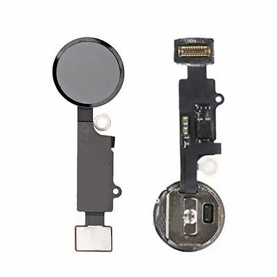 iPhone 7 Plus Home Button Main Key Flex Ribbon Touch Assembly Replacement Black