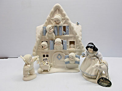 DEPT 56-69986 SNOW WHITE AND THE SEVEN SNOWBABIES NEW c