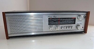 SUPERB VINTAGE RETRO ROBERTS RM40 RADIO AM FM TABLE TOP Aux Input works well