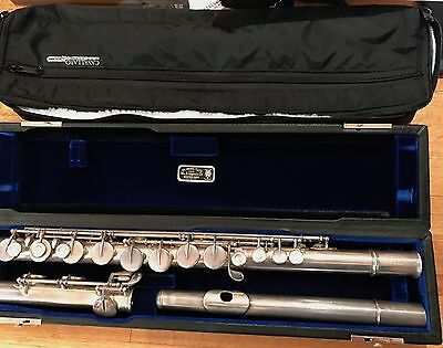 Vint. William S. Haynes Silver Alto Flute Magnificent 1936 With Orig & New Case!