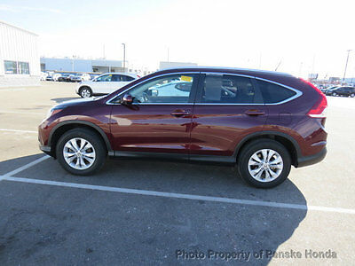 2014 Honda CR-V AWD 5dr EX-L AWD 5dr EX-L Low Miles 4 dr SUV Automatic Gasoline 4 Cyl Basque Red Pearl II