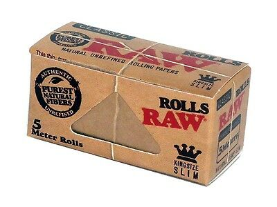 RAW Classic Roll 4,2 x 5m twisted rolling paper KingSize (sample/1/2/6/12/24)pcs