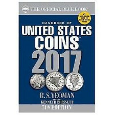 2017 BLUE BOOK of United States Coins, SOFTBOUND, NEW!!! Whitman