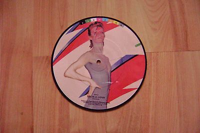 "David Bowie The Jean Genie 7"" Picture Disc mint unplayed BOWP103."