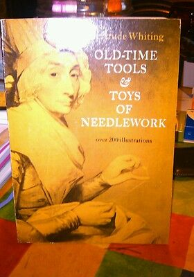 Book Old Time Tools  For Toys & Needlework
