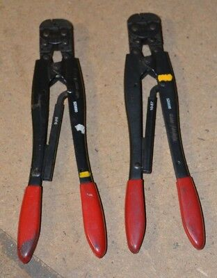 AMP 525690 P.I.D.G Stratotherm Hand Crimp Tool 20-18 Wire Size