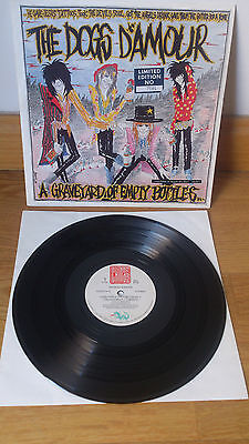 """The Dogs D´amour Limited Edi 10"""" A Graveyard Of Empty Bottles... Quireboys"""
